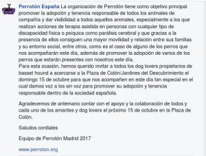 Invitación de Perrotón España 2017 a todos los amantes de los Basset Hound 1